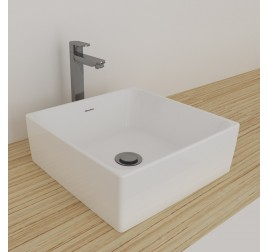 Johnson Suisse 100WW Gemelli Square Above Counter Basin