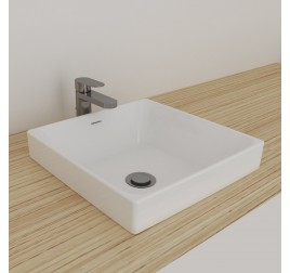 Johnson Suisse 110WW Gemelli Square Semi Insert Basin