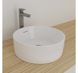 Johnson Suisse 120WW Gemelli Round Above Counter Basin