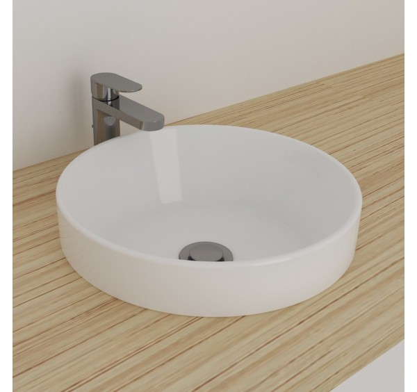 Johnson Suisse 130WW Gemelli Round Semi Insert Basin