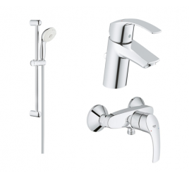 Grohe Eurosmart (New) Bundle Shower Set
