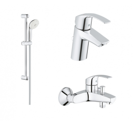 Grohe Eurosmart (New) Bundle Bath Set