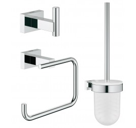 Grohe Essentials Cube 40757001 3-in-1 Accessories Set