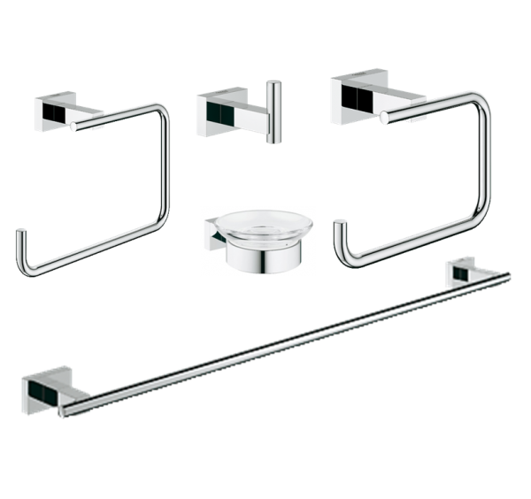 Grohe Essentials Cube 40758001 Accessories Set 5 in 1
