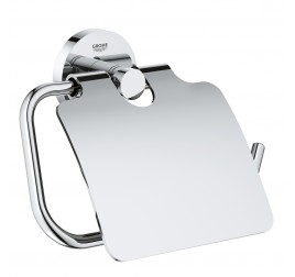 Grohe 40367001 Toilet Paper Holder with Cover