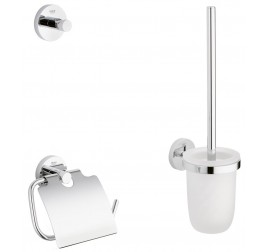 Grohe Essentials Cube 40407001 3-in-1 Accessories Set