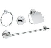 Grohe Essentials 40776001 4 in 1 Accessories Set