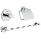 Grohe Essentials 40775001 3 in 1 Accessories Set