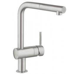 Grohe 32168DC0 Minta L-spout SuperSteel