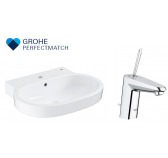 Grohe Eurocosmo Basin With Eurodisc Joy Basin Mixer