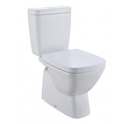 Johnson Suisse Bergamo Square Close Coupled WC