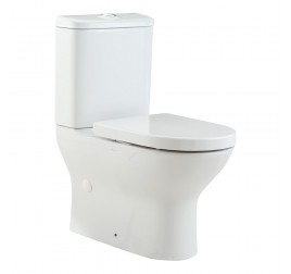 Johnson Suisse Trieste Close Coupled Back-To-Wall WC