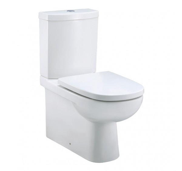Johnson Suisse Modena Close Coupled Back To Wall WC