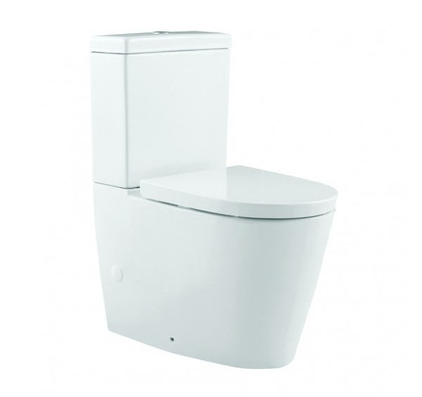 Johnson Suisse Venezia Close Coupled Back TO Wall WC