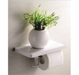 Tuscani ASSPH 1 Single Paper Holder WIth Shelf